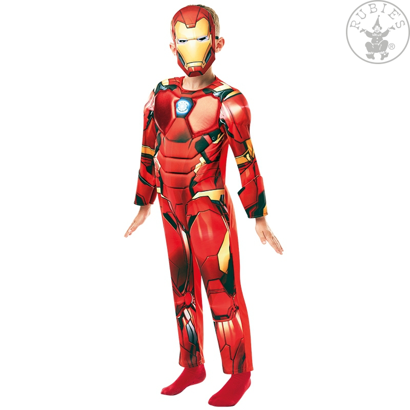 Kostýmy - Iron Man Avengers Deluxe - Child
