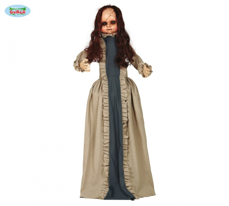 Doplňky - Horror panenka 150cm - dekorace na halloween
