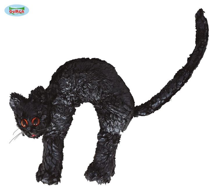 Doplňky - Černá kočka 23 x 22 cm