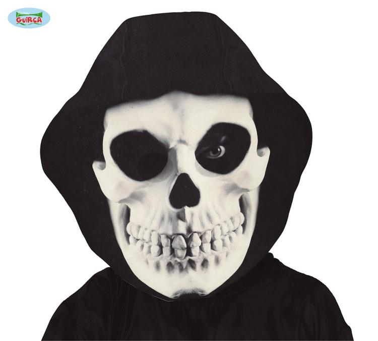 Masky - GIANT HOODED SKULL MASK - maska