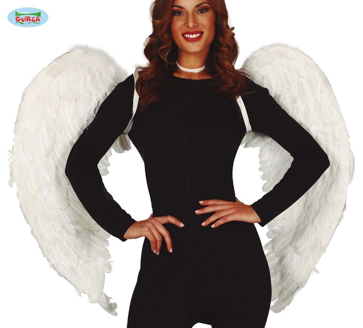 Doplňky dle zaměření - Velká péřová andělská křídla