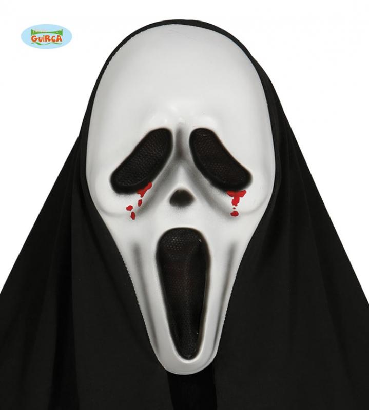Masky - Maska vřískot s krví a šátkem X