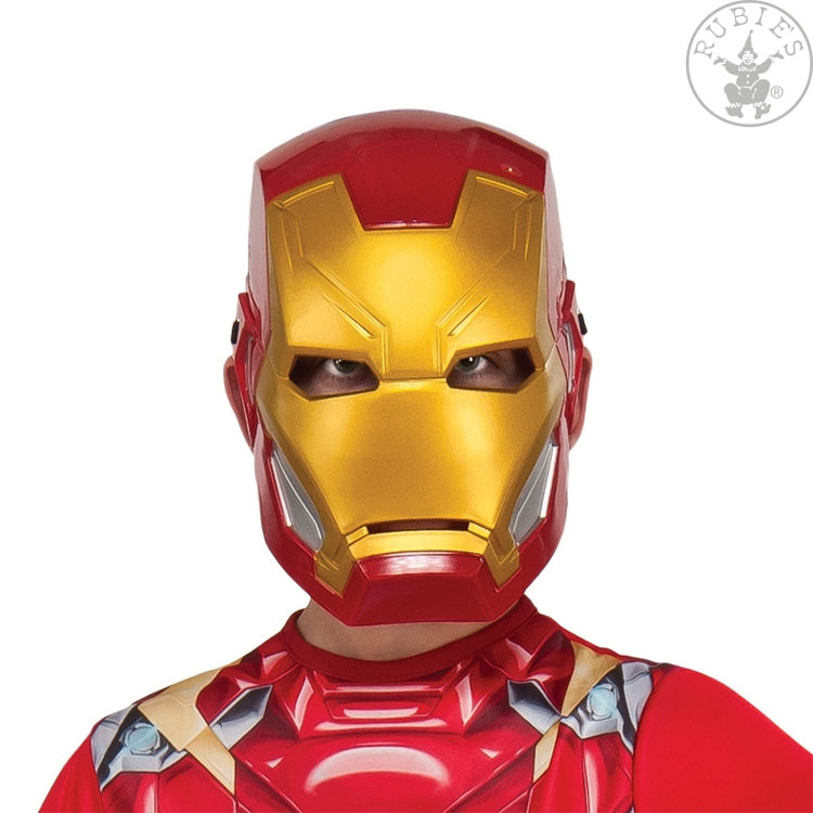 Masky - Iron Man Avengers Assemble Maske - Child