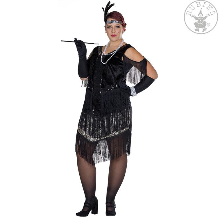 Kostýmy na karneval - Dámské šaty charleston FC