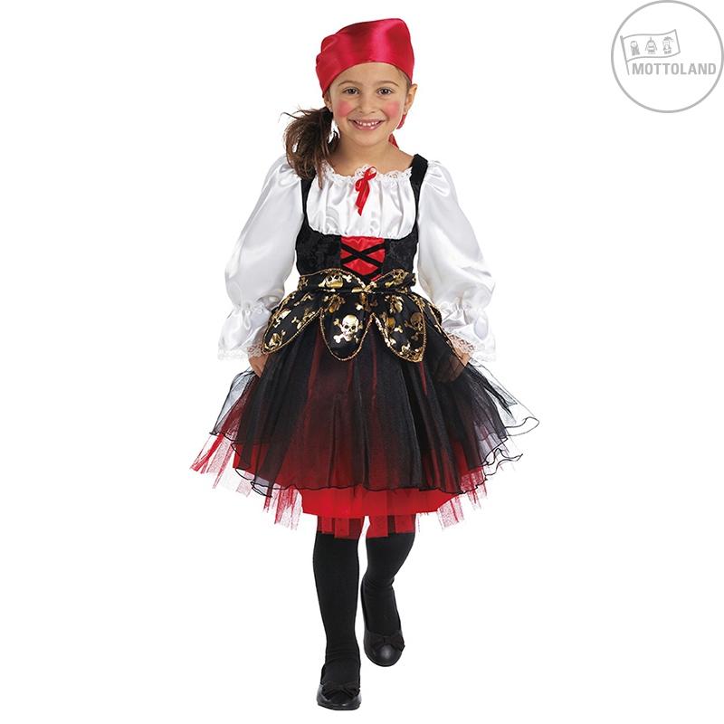 Slevy, výprodej - Pirátský kostým dětský s šátkem na hlavu - VADA