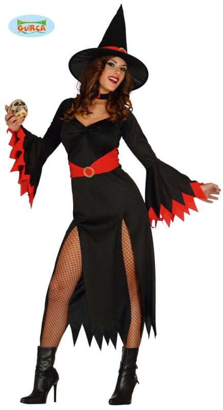 Kostýmy na karneval - Červená čarodějnice Guirca - VADA