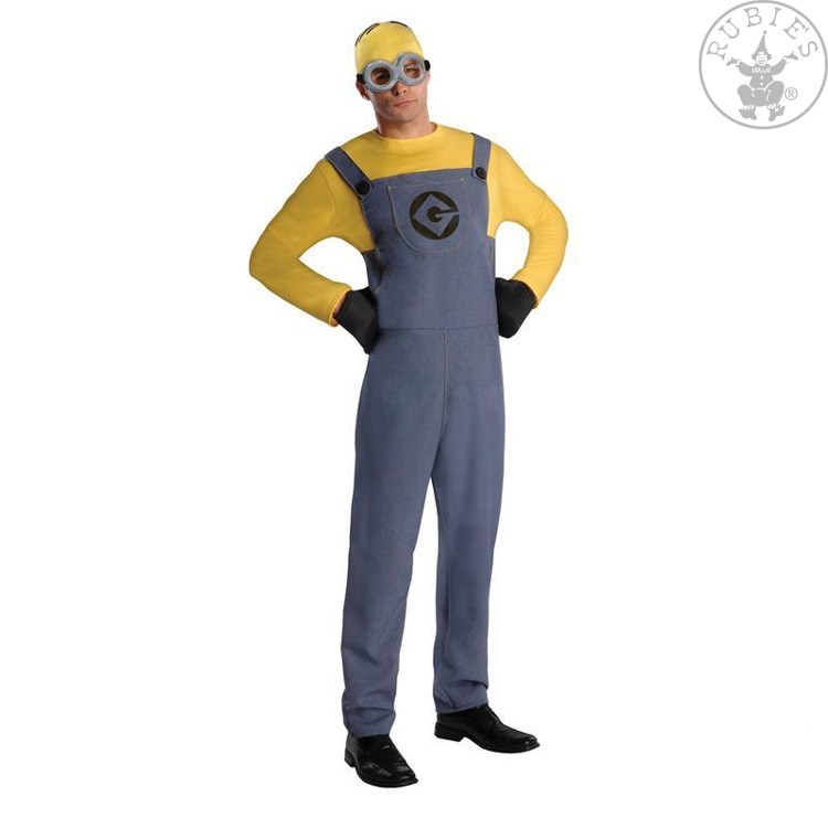Kostýmy - Minion Dave Dress - Adult STD