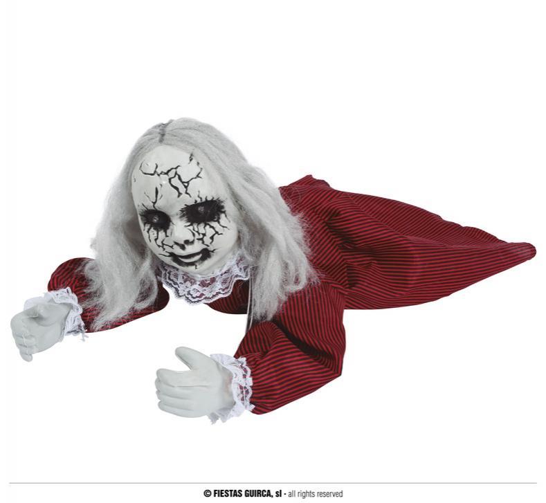 Doplňky - Plazící se panenka dekorace halloween