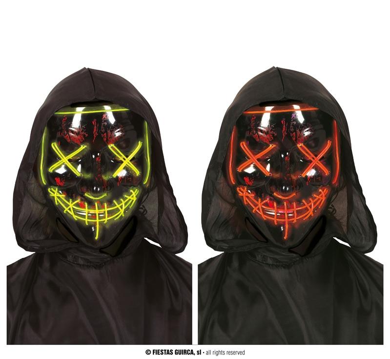 Doplňky dle zaměření - Maska s led osvětlením