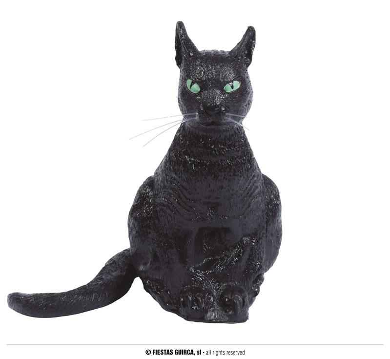 Doplňky - Černá latexová kočka