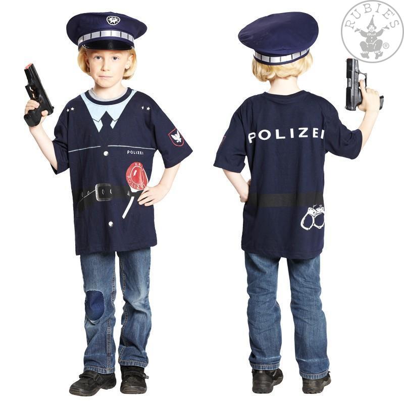 Kostýmy na karneval - Tričko POLICIE