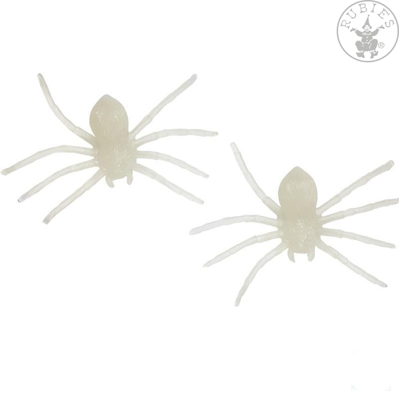 Doplňky - Pavouk fluoreskující - 2 ks