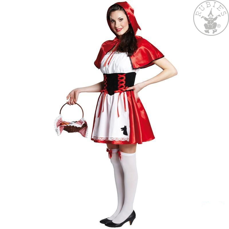 Kostýmy - Červená Karkulka - kostým
