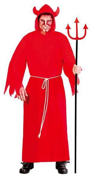 Kostýmy - Plášť červený - Lucifer