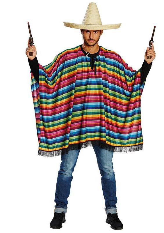 Kostýmy - Mexické poncho