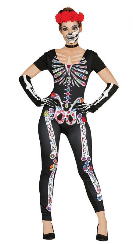 Kostýmy na karneval - Kostým Squelette Mexicain velikost M