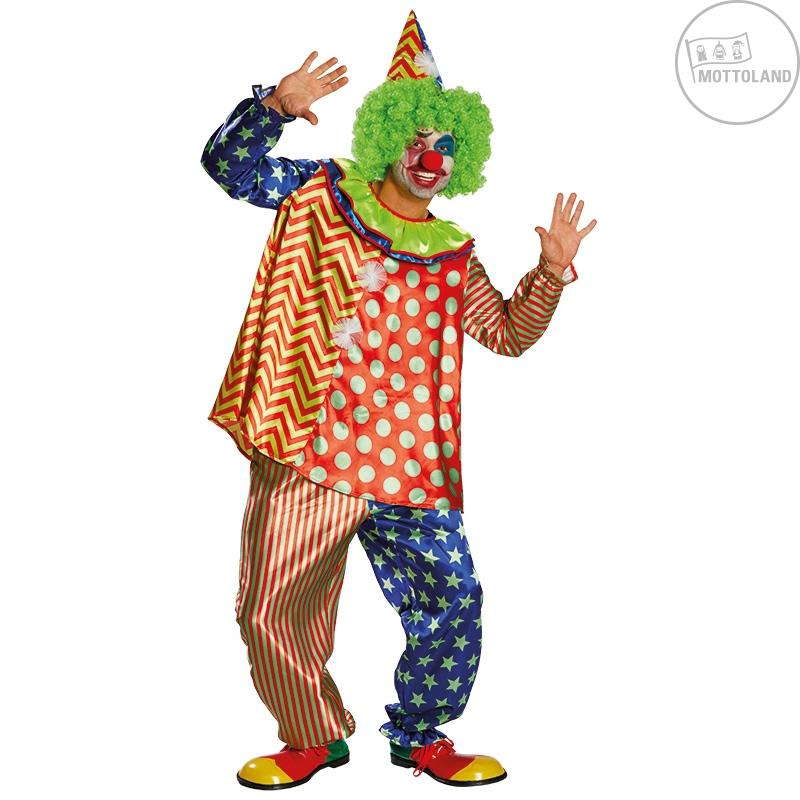 Kostýmy - Klaun Mottoland