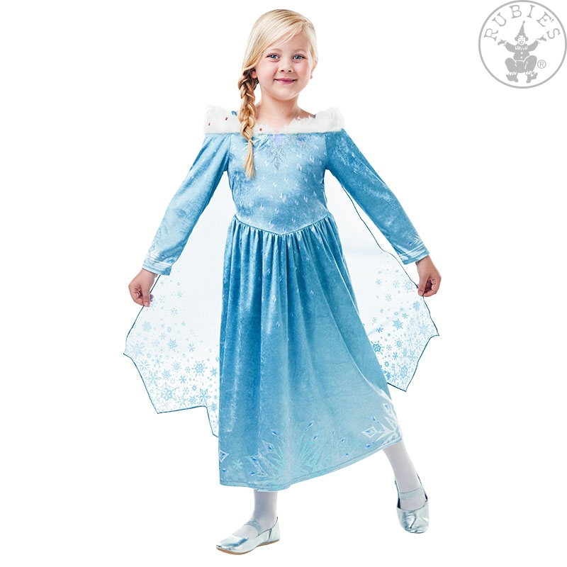 Kostýmy - Elsa Frozen Olaf´s Adventure Deluxe - Child