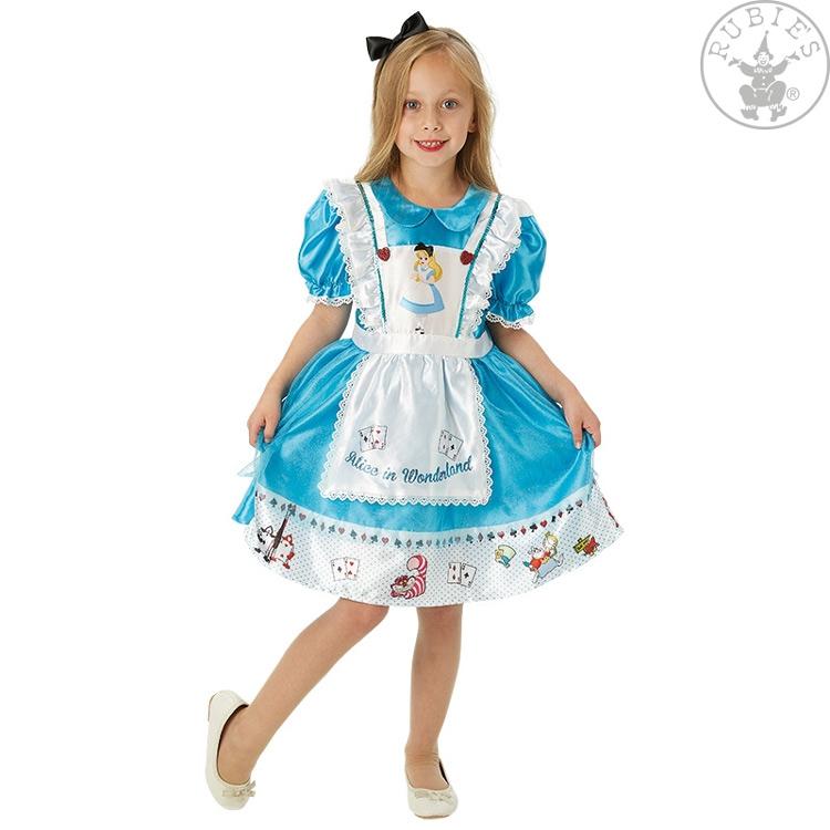 Kostýmy na karneval - Dětský kostým Alice in Wonderland Deluxe