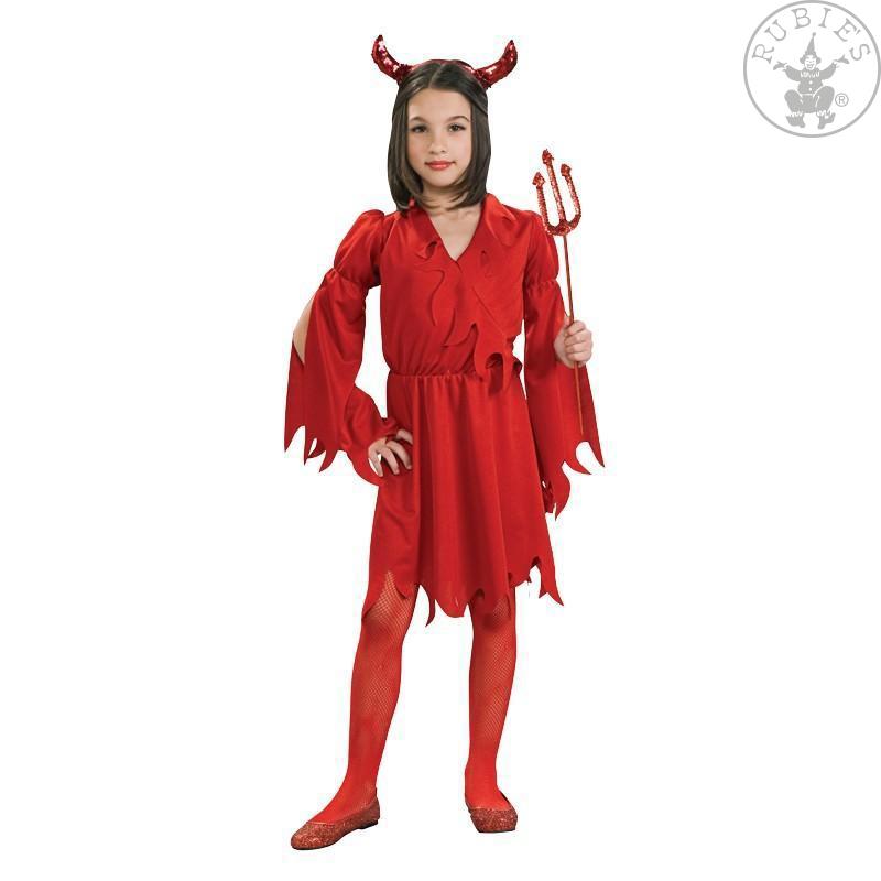 Kostýmy na karneval - Devil Girl - kostým