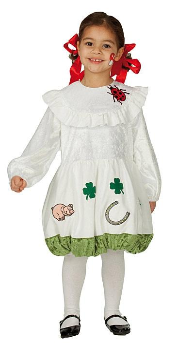 Kostýmy na karneval - Dívčí karnevalový kostým Štístko D