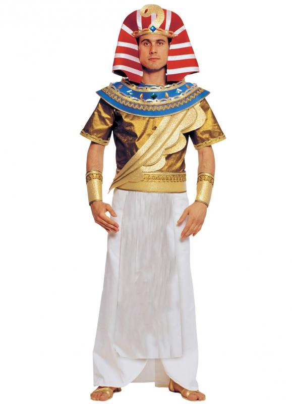 Kostýmy na karneval - Faraon zlatý - kostým