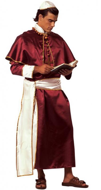 Kostýmy - Kardinál - kostým