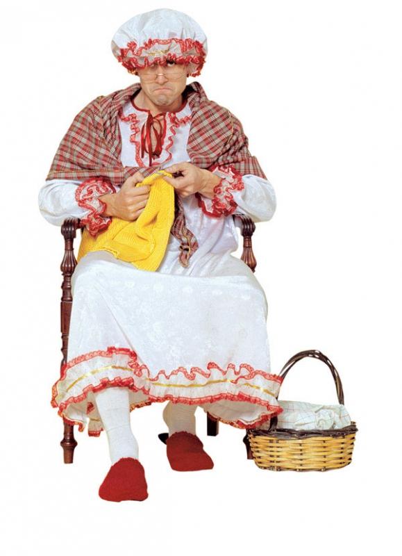 Kostýmy - Kostým babička