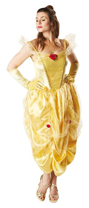 Kostýmy na karneval - Kostým Golden Belle Adult - licence X