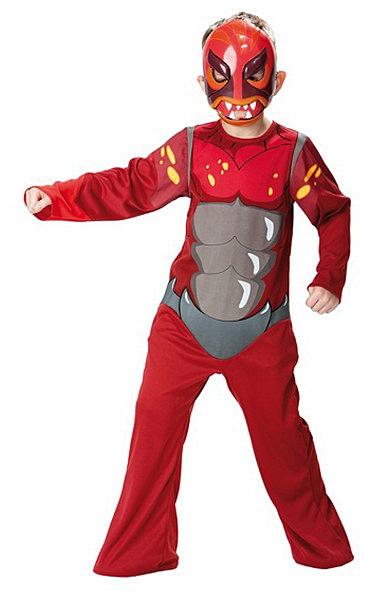 Kostýmy - Kostým Gormiti Volcano Classic - licenční kostým D