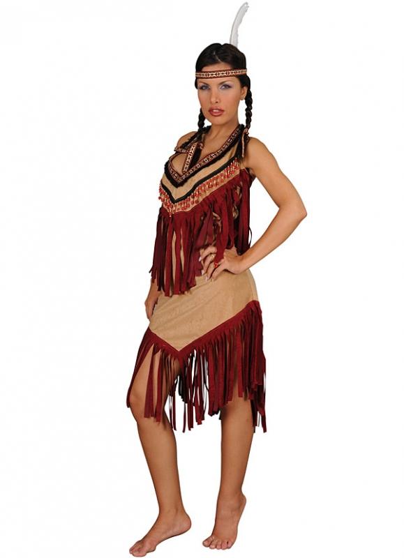Kostýmy - Kostým INDIANA GIRL