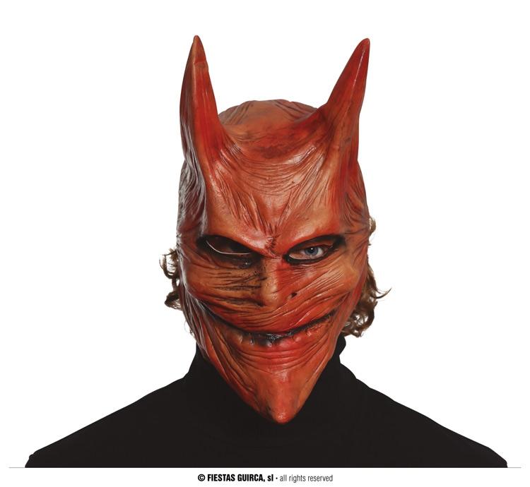 Masky - Latexová maska diabla