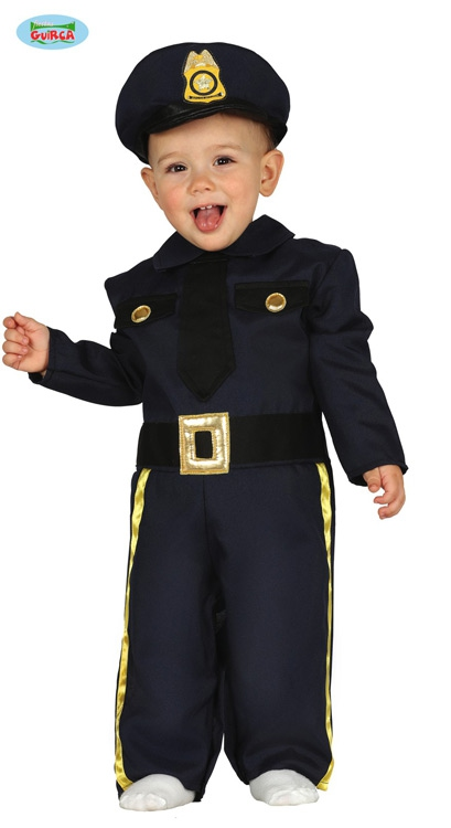 Kostýmy - Malý policista  1 - 2 roky