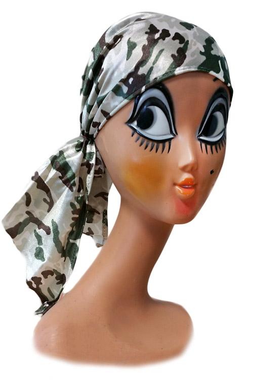 Klobouky a čepice - Maskáčový šátek