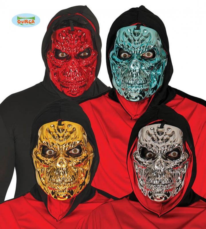 Masky - Masky kovového vzhledu - smrtka