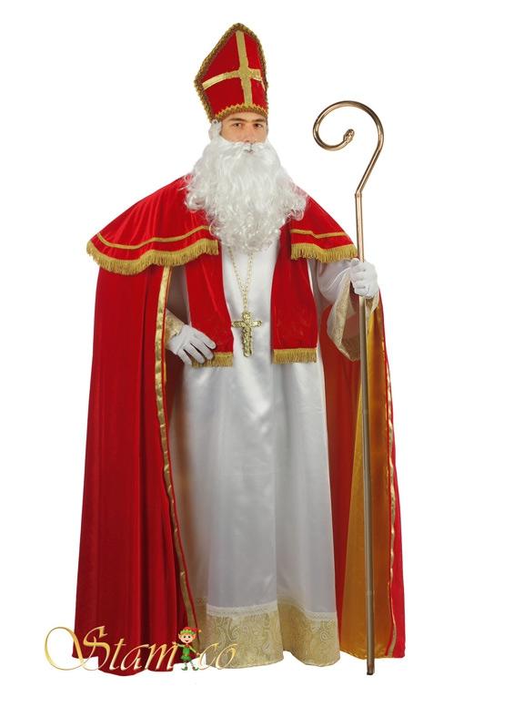Kostýmy - Mikuláš  Extra - luxusní kostým XXL