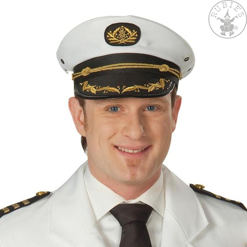 Klobouky a čepice - Námořník bílý