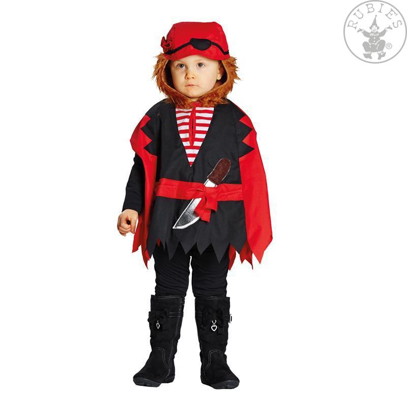 Kostýmy na karneval - Pirátská pelerína