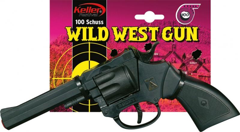 Doplňky - Plastová pistole Rocky 100 ran