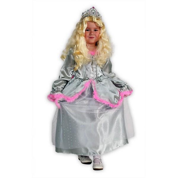 Kostýmy na karneval - Princezna  s růž. labutěnkou