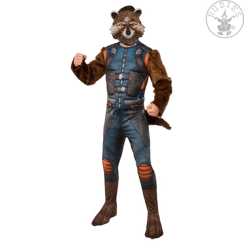 Kostýmy na karneval - Kostým Rocket Raccoon Deluxe GOTG 2