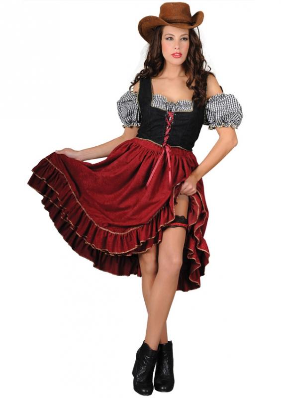 Kostýmy - Saloon Girl II - kostým