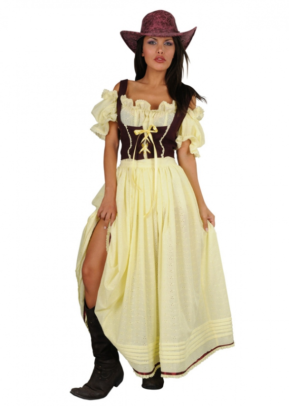 Kostýmy - Saloon Girl - kostým