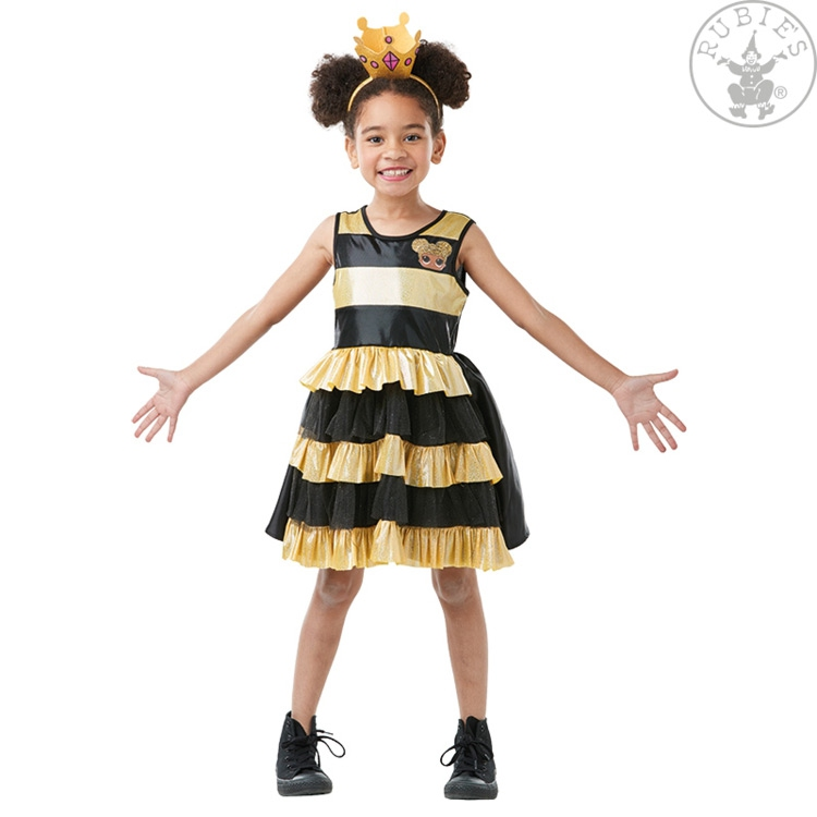 Kostýmy - Šaty Queen Bee LOL Deluxe - child