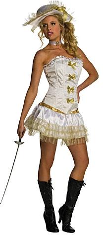 Kostýmy na karneval - Sexy kostým mušketýrka D