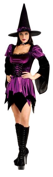 Kostýmy na karneval - Sexy Witch - kostým D