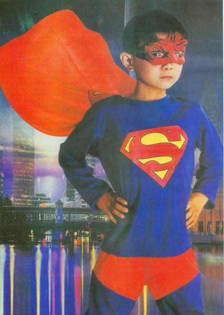 Kostýmy - Superhrdina II. - kostým pro děti