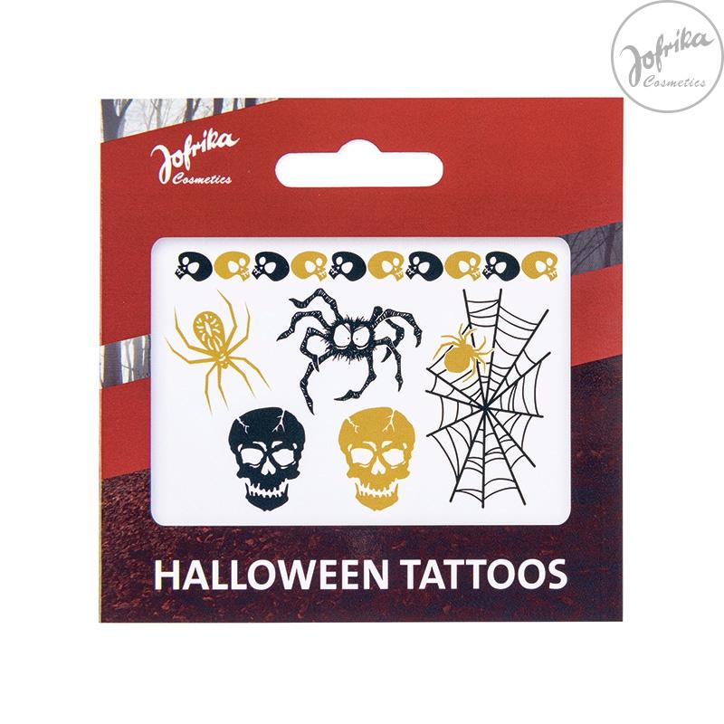 Doplňky - Tetování - halloween s pavučinou