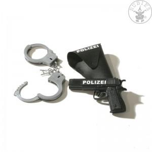 Dětský policejní set 3dílný pistole