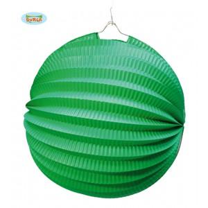 Lampion 26 cm zelený